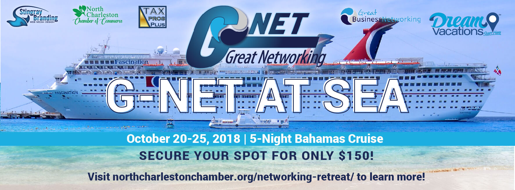 G-Net at Sea Annual Retreat 5 Night Caribbean Cruise Header Image