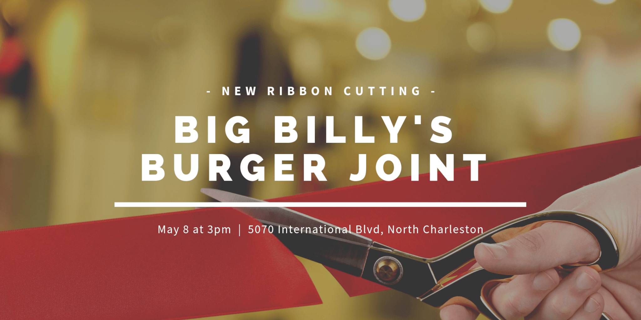 Big Billy's Burger Joint Ribbon Cutting