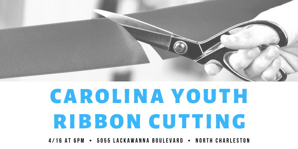 carolina youth ribbon cutting