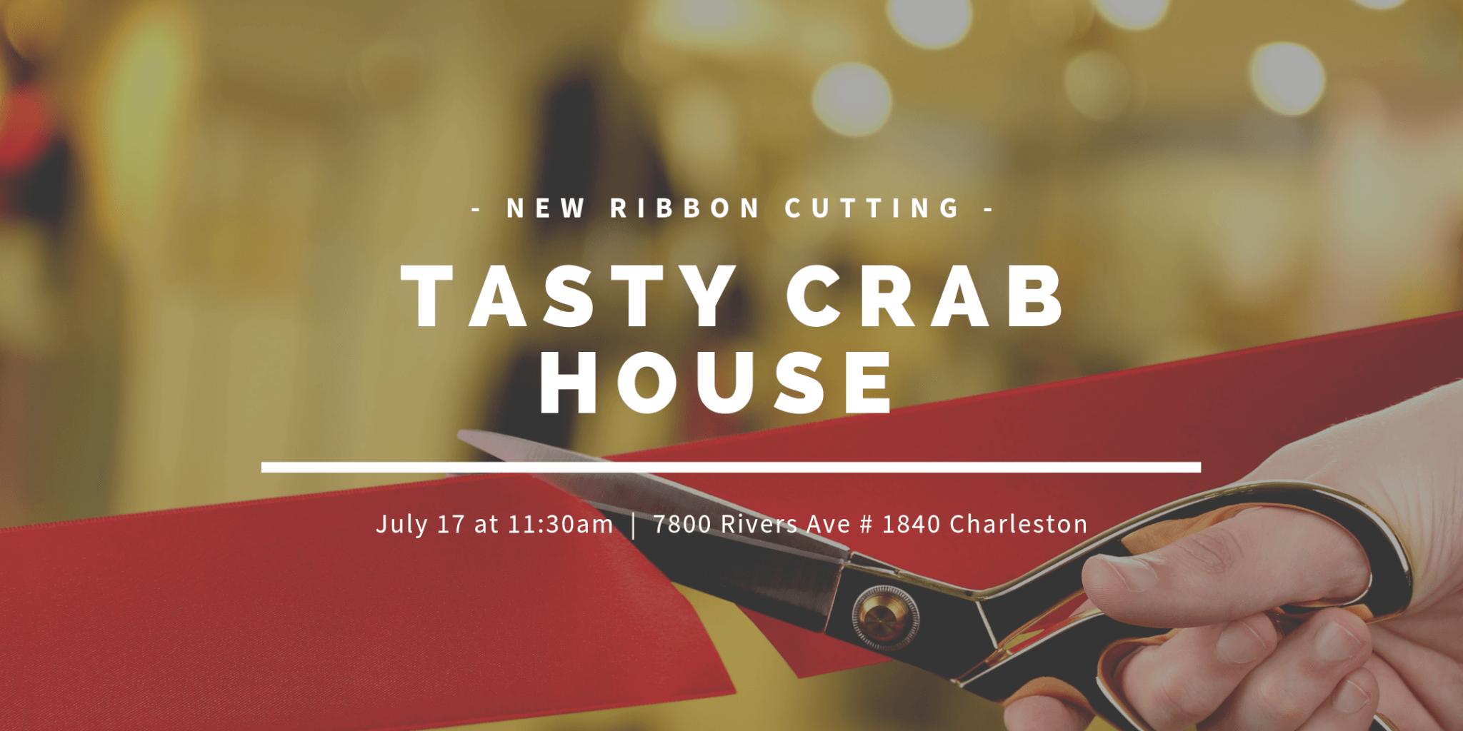Tasty Crab House Ribbon Cutting