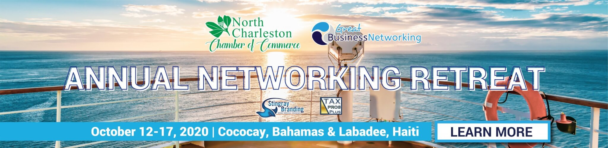 gbn networking retreat, chamber cruise, chamber networking retreat